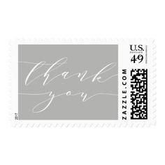 #wedding #thankyoucards - #Chic Script | Wedding Thank You Postage