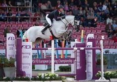 Ben Maher riding Cella. Picture by Jon Stroud