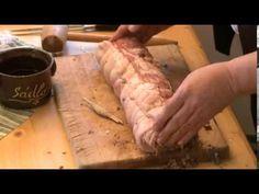 51 Bůčková roláda Jak šmakuje Moravskoslezsko? Pork Tenderloin Recipes, Pork Recipes, Recipies, Czech Recipes, Good Food, Meat, Baking, Bucky, Straws