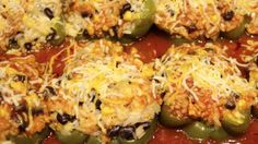 MEXICAN/ MEXICAN STUFFED PEPPERS RECIPE/CHERYLS HOME COOKING/ EPISODE 537