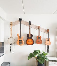 Each instrument hanger is uniquely designed to hold that specific instrument, ensuring your instrument is safe and secure. Made in the USA and backed with a structural lifetime warranty.