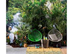 Woonvondst: kleurrijke tuinstoel als eyecatcher
