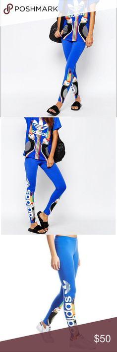 New Adidas Originals X farm toucan leggings S New Adidas Original X Farm  Leggings. Washed e54ab6f138c75