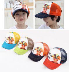 8896a86d9d1b Fashion Baby Baseball Cap People Graffiti Style Boy girls Hat  Hip Hop  Snapback  Children Sun hats