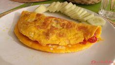 """Vaječná omeleta s rajčátky a cibulkou: """""""" Low Carb, Ethnic Recipes, Food, Meals, Yemek, Eten"""