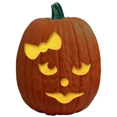 pumpkin template girl  7 Best Pumpkin Carving Templates images | Pumpkin carving ...