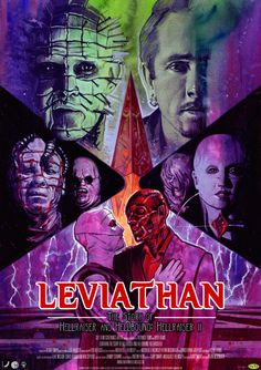 Official Poster by Graham Humphreys available soon   leviathan-hellraiser.co.uk