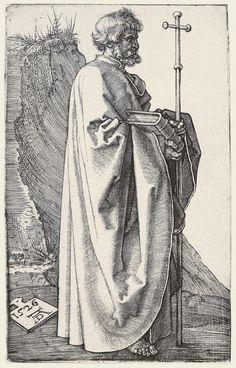 Albrecht Dürer - Saint Philip - Engraving, 122x74mm - 1523 | Flickr - Photo…