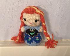Princess Anna inspired Amigurumi Doll  Handmade  by meddywv