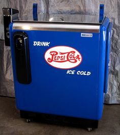 old coke machines for sale cheap | Vintage Pepsi Machine