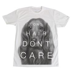 Long hair dont care tee | http://www.beangoods.com