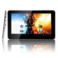 9 Inch Capacitive Screen Processor RAM MicroSD Slot Budget Tablet The brand new Android tablet HexTab with 9 inch screen, internal memory, and a fast CPU. Solid specifications at an unbeatable price! Latest Android, Android 4, Sistema Android, Books To Read Online, Read Books, Multi Touch, Tablets, Online Shopping Sites, Best Budget
