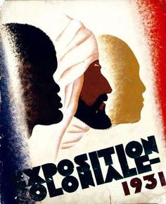 Exposition coloniale, Paris, 1931. llustration de Pestel.