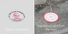 Customize your own stamps with the Silhouette Mint