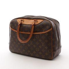 Luxuriöse Handtasche von Louis Vuitton in Braun - 100% Leder