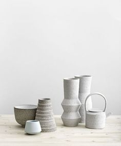 """Styling"" by LEUCHTEND GRAU - Full story: http://www.leuchtend-grau.de/2016/07/minimalist-ceramic.html"