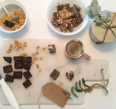 Peanøtt-trøfler — FAMILIEMAT Cereal, Snacks, Breakfast, Food, Morning Coffee, Appetizers, Essen, Meals, Yemek