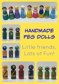 DIY peg dolls