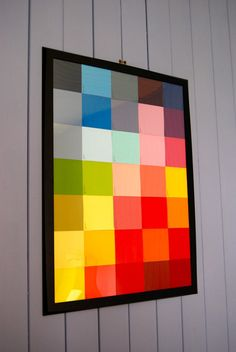 Paint swatch art from Laura Swanson