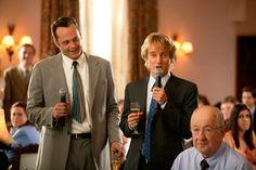 De boda en boda (2005), con Owen Wilson y Vince Vaughn