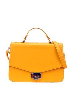 Julirtte Yellow Shoulder Bag