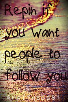 my goal is 100 followers!
