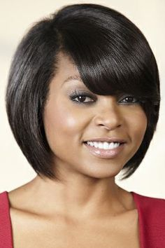 Charming Taraji P. Henson.. Love Her Hair!!! Bob HaircutsBob ...