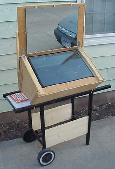 Solar Oven - Cart-- I NEED THIS!!!