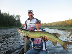 Muskie fishing on the Allagash River in Northern Maine