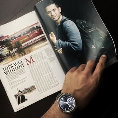 @mlobregat is ready to head out and travel with his #HuaweiWatch!  #MakeItPossible #LiveHuawei #WearHuawei #StyleMeetsTech