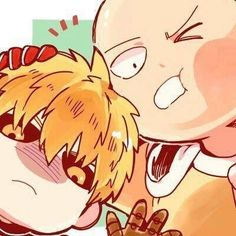 One Punch Man: Chibi Genos and Saitama Saitama One Punch Man, One Punch Man Anime, One Punch Man 3, Anime Boys, Tv Anime, Anime Chibi, Anime Manga, Anime Naruto, Kawaii Chibi