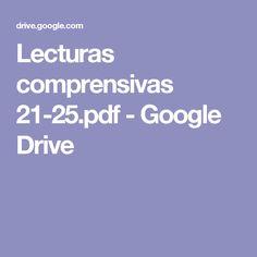 Lecturas comprensivas 21-25.pdf - Google Drive