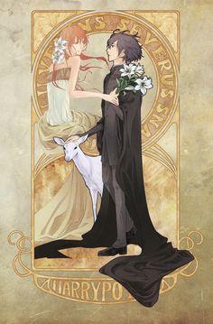 Snape & Lily by Ririru