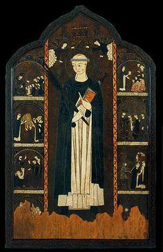 "Autor desconocido. Cataluña.  ""Altarpiece of Saint Peter Martyr"". c. S. XIV"