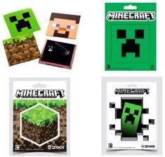 Minecraft Pin and Sticker 7-Piece Collectors Pack JINX http://www.amazon.com/dp/B00G5GO6GM/ref=cm_sw_r_pi_dp_4ITjub0PXCMSC