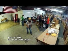 Duck Commander Official Harlem Shake. So funny, love jase just standing there with his gun ♡