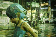 Oeuvres d'art en relief par Shintaro Ohata