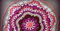 crochet doily, crochet mandala, doily, mandala