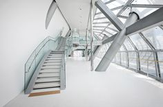 Office & Workspace : hall design, wall covering, Seoul City hall, Seoul, Korea [ staron solid surface : SP016-Pure white]