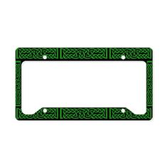 Celtic Knot Blue License Plate Holder by FoxVox - CafePress License Plate Covers, License Plate Frames, Plate Holder, Celtic Knot, Buffalo Plaid, Knots, Plates, Red, Prints