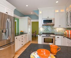 1913, traditional kitchen remodel, Minneapolis, MN. after remodel photo