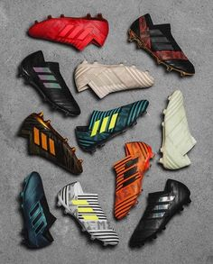 One of the greatest sports on the planet is soccer, otherwise known as football in many countries. Best Soccer Cleats, Girls Soccer Cleats, Soccer Gear, Football Gear, Football Outfits, Adidas Football, Kids Football Boots, Football Shoes, Football Cleats