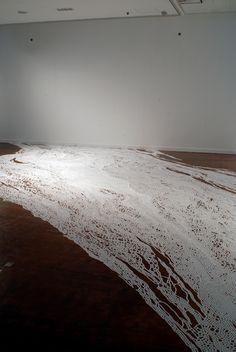 """Motoi Yamamoto """"Salt Installations"""""""