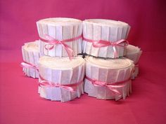 Vanilla Cream Fabric Strips  Quilt Fabric Jelly by SEWFUNQUILTS, $17.75