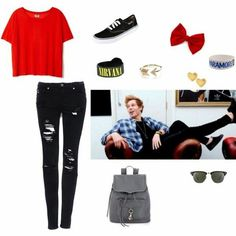 Chill with Luke Hemmings 5sos Outfits, Cute Outfits, 5sos Preferences, 5sos Imagines, Beautiful Outfits, Beautiful Clothes, Band Merch, Luke Hemmings, 5 Seconds Of Summer