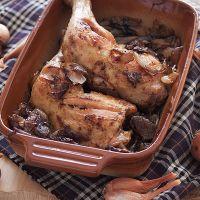 Pečena piletina i karamelizirani luk » Voće i povrće