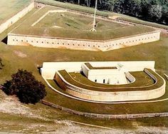 Fort Barrancas, constructed between 1839-1844, was one of four forts built to protect the Pensacola Navy Yard.