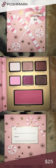 peppermint mocha palette Never used, 100% authentic Too Faced Makeup Eyeshadow