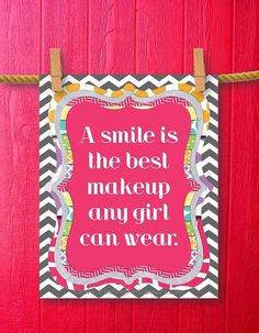 A Smile Is The Best Makeup Any Girl Can Wear Pictures, Photos, and Images for Facebook, Tumblr, Pinterest, and Twitter