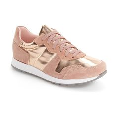 charlie sneaker by Topshop. Trend-savvy metallic and rich suede grounds your streetwise style with this retro sneaker.